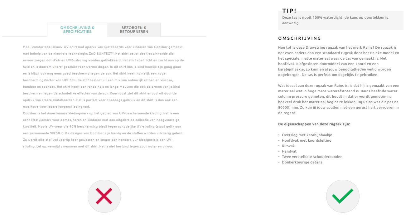 Afbeelding 12 zorg voor eenvoudig scanbare content in je UX-design