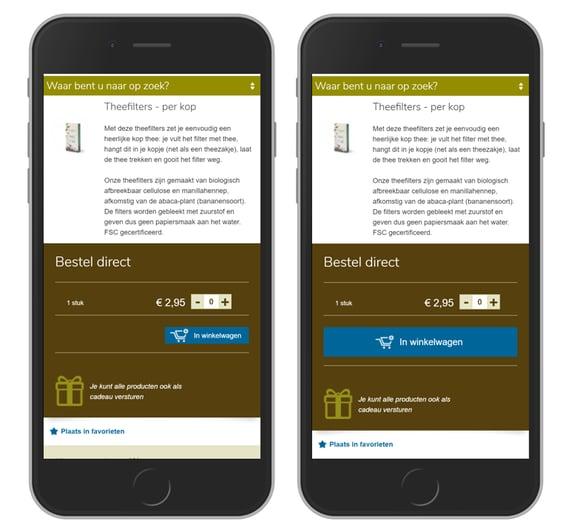 Afbeelding 4 duimvriendelijke UX-design op de smartphone
