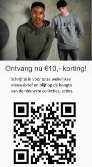QR-code kaartje