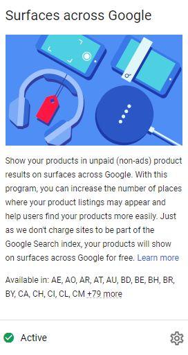 Activatie Surfaces across Google