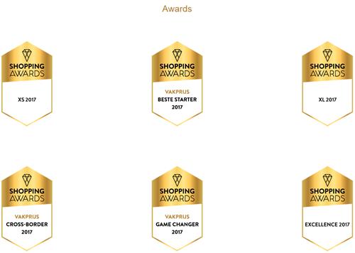 5 ISM-klanten genomineerd voor Shopping Awards