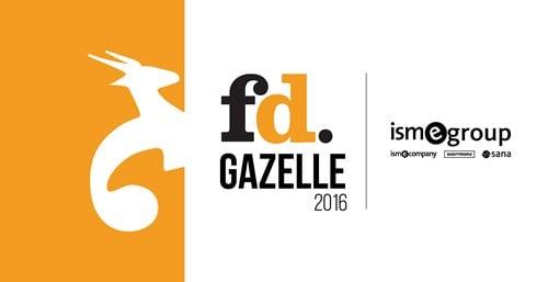ISM eCompany wint voor de tweede keer op rij de FD Gazelle Award