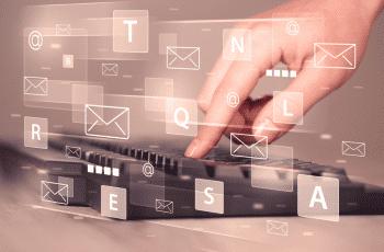 E-mailmarketing-toetsenbord-snippet