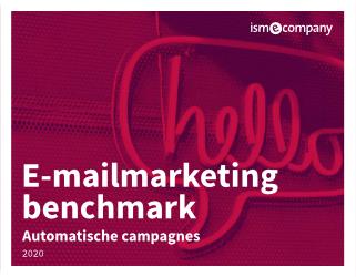 E-mailmarketingbenchmark automatische campagnes 2020