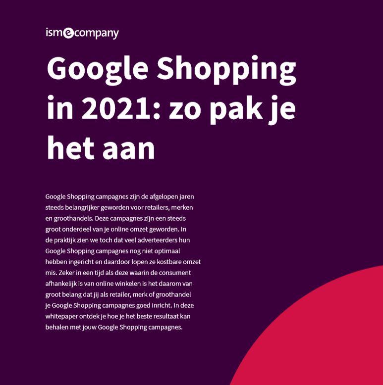 Google Shopping in 2021