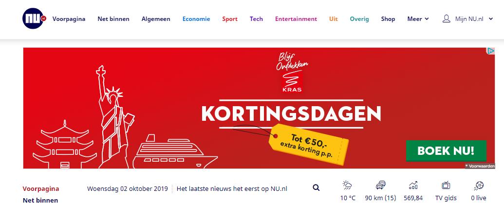 Nu.nl displaybanner