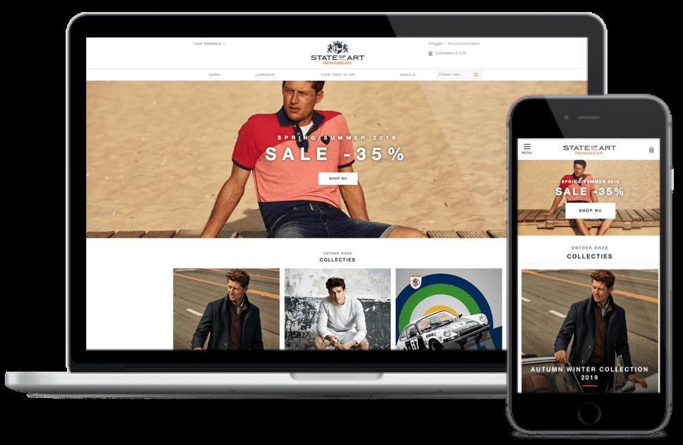 State-of-art-webwinkel-homepagina