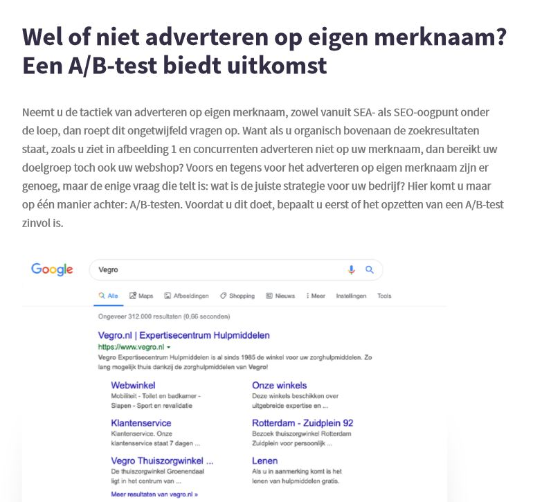 voorbeeld whitepaper adverteren op merknaam